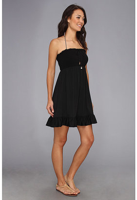 Juicy Couture Bow Chic Smoked Cover-Up Dress