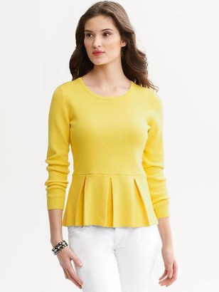 Banana Republic Peplum sweater