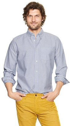 Gap Striped modern Oxford shirt