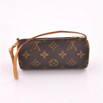 Louis Vuitton excellent (EX Mini Pochette Papillon Brown Monogram Canvas Bag