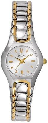 Bulova Women's Classic Two Tone Stainless Steel Watch - 98T84