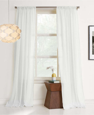 "Lichtenberg Cera 100% Cotton 50"" x 84"" Sheer Curtain Panel"