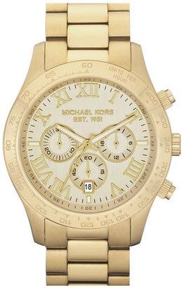 Michael Kors 'Large Layton' Chronograph Watch, 45Mm $250 thestylecure.com