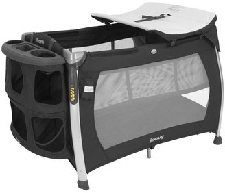 Joovy Room Playard with Bassinet & Changing Table - Black