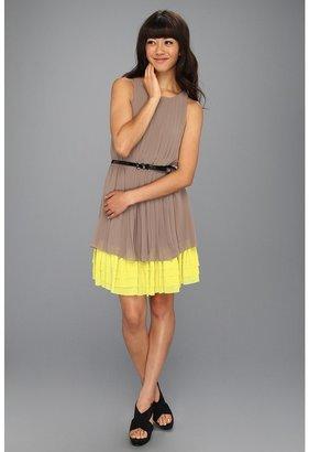 Jessica Simpson Sleeveless Dress (Taupe) - Apparel