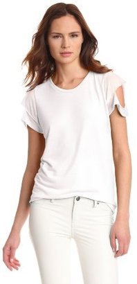 LnA Women's Del Cut Out Tee