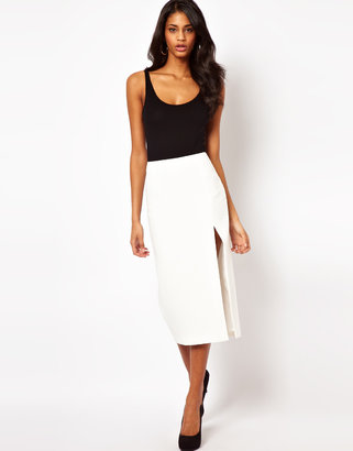Asos Pencil Skirt with Side Split