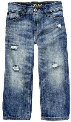 Gap Loose fit distressed jeans (medium wash)