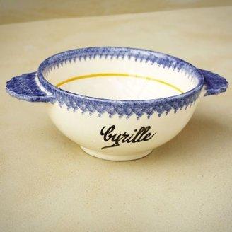 Sur La Table Vintage Quimper Faience Lug Bowl, Cyrille