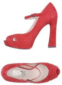 KORS Pumps with open toe