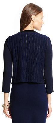 Diane von Furstenberg Knit Bodycon Cardigan