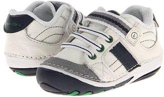 Stride Rite SRT SM Artie (Infant/Toddler) (White/Navy) Boys Shoes
