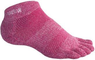 ToeSox ULTRA Sport Ankle Socks - Lightweight (For Men and Women)