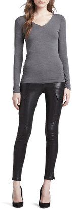 J Brand Jeans Houlihan Leather Skinny Pants