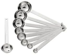 Chefs Measuring Spoons, Set of 9