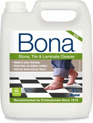 Bona Stone, Tile & Laminate Floor 4L Cleaner Solution Refill