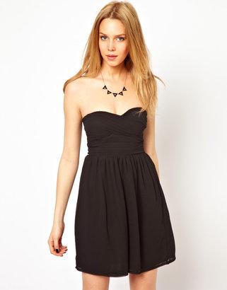 Club L Chiffon Prom Dress