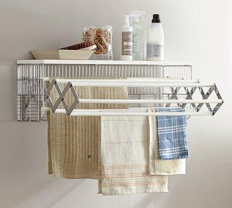 Pottery Barn Wall-Mounted Laundry Drying Rack