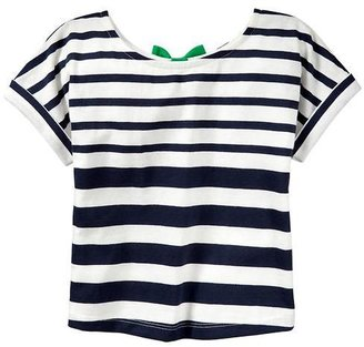 Gap Mixed-stripe bow top
