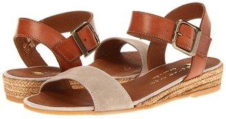 Eric Michael Amanda (Taupe) Women's Sandals