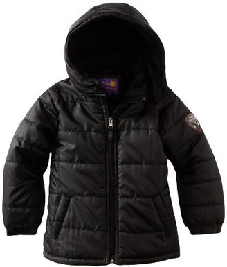 Pink Platinum Girls 2-6X Solid Ripstop Puffer Jacket