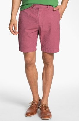 Brooks Brothers Overdyed Seersucker Bermuda Shorts