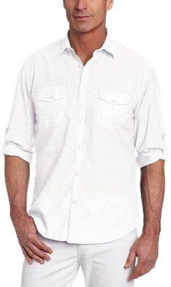 Bally James Campbell Men's Long Sleeve Leno Woven