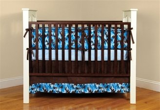 Mink Camo Bedding Blue
