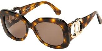 Chanel chunky Jackie-O sunglasses