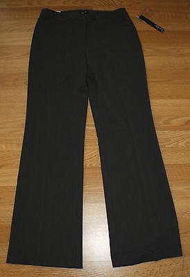 Nicole Miller NWT Womens Easy Care Black Dress Pants Slacks Size 6