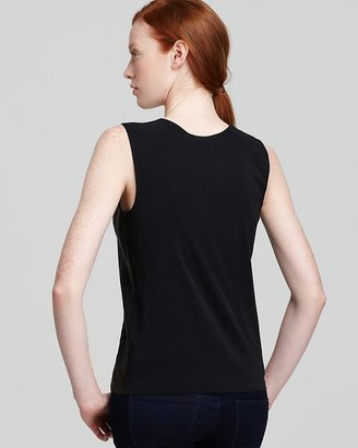 Vince Tank - Sheer Back Leather