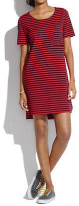 Madewell Striped T-Shirt Dress