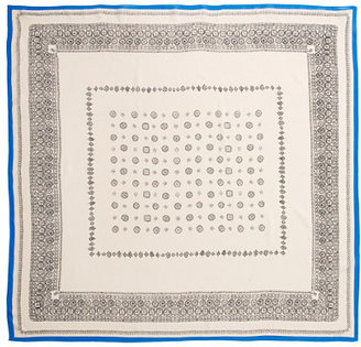 Madewell Silk Bandana-Print Scarf