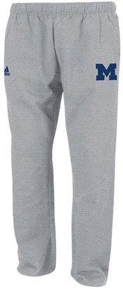 adidas michigan wolverines fleece sweatpants - men