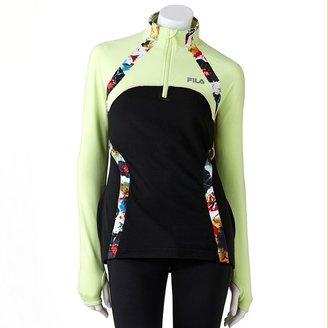 Fila sport ® palm rise 1/4-zip performance pullover - women's