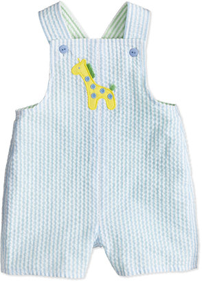 Florence Eiseman Zoo Stack Striped Short-Playsuit, 12-24 Months