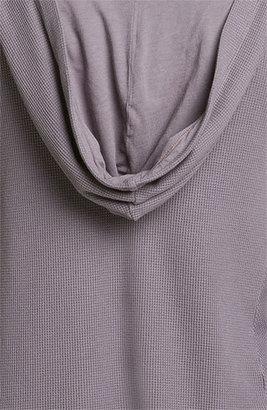 Splendid Women's Draped Thermal Hoodie