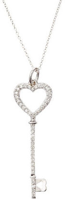 KC Designs Diamond Heart Key Necklace