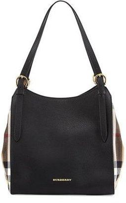 Burberry Leather Shoulder Tote Bag, Black $1,250 thestylecure.com