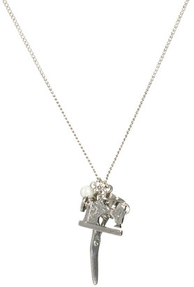 And Mary Sewing Kit Charm Necklace