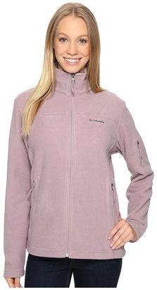 Columbia - Fast Trek II Full-Zip Fleece Jacket Women's Coat $50 thestylecure.com