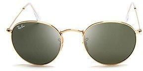Ray-Ban Unisex Icons Round Sunglasses, 50mm