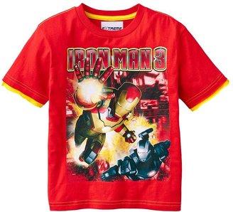 Iron Man 3 mock-layer tee - boys 4-7