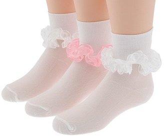 Jefferies Socks Sheer Ribbon Tutu 3 Pack (Infant/Toddler/Little Kid/Big Kid)