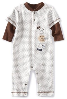 Rene Rofe Baby-boys Newborn Sit Play and Crawl Non-Footed Coverall