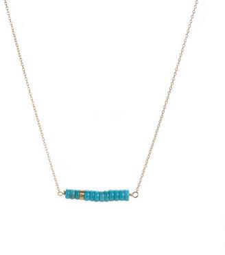 Page Sargisson Graduated Necklace Turquoise