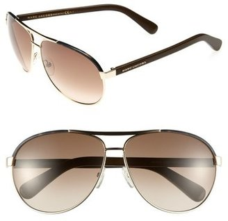Marc Jacobs 63mm Aviator Sunglasses