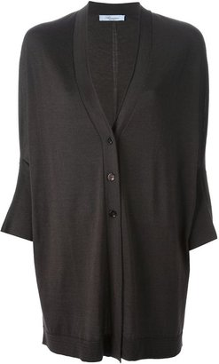 Blumarine oversized cardigan