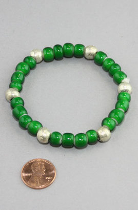 Hudson AFRICAN TRADE BRACELETS Bay Ethiopian Nickel Bracelet (Green/Silver)
