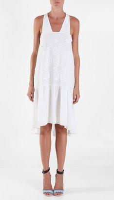 Tibi Fiona Embroidery Dress